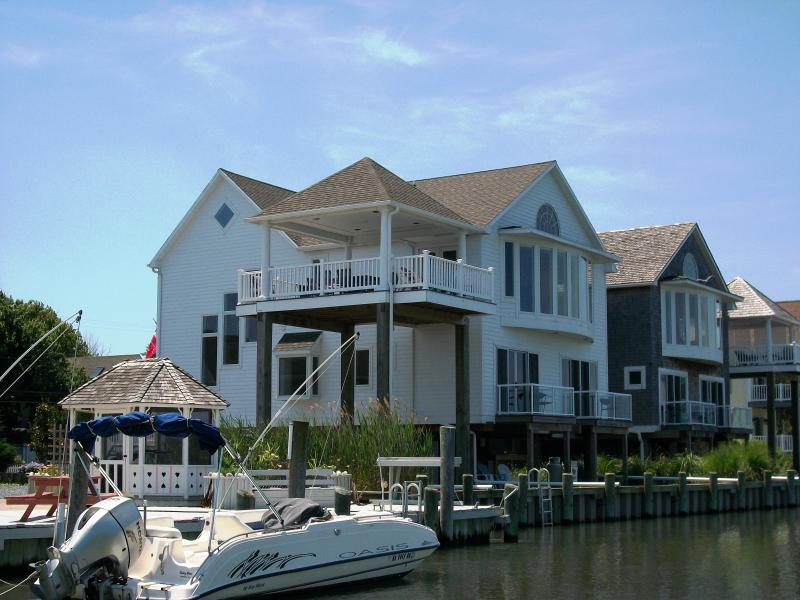 Located directly on deep water Chincoteague Channel overlooking beautiful Chincoteague Bay.