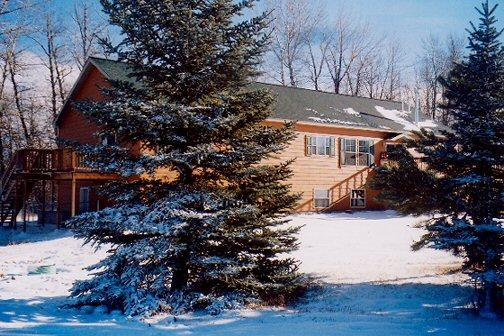 The Lodge in Winter - Medicine Flower Lodge & Vacation Rentals - Red Lodge - rentals