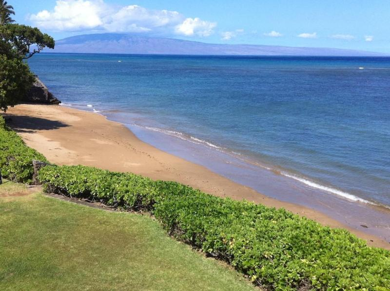 View from Balcony - Luxury 3-BR Oceanfront Condo with Incredible View! - Kahana - rentals