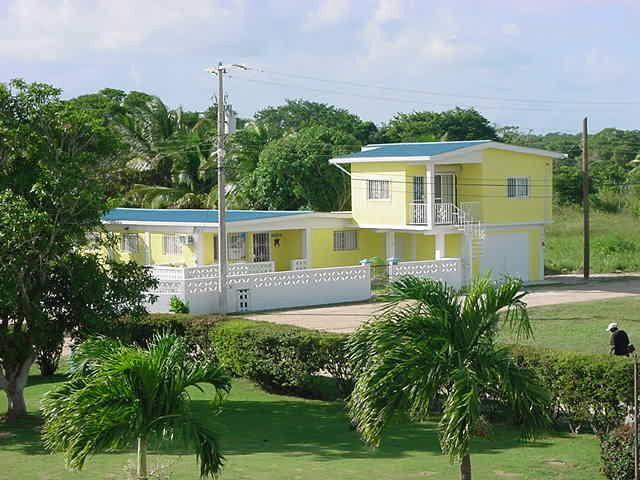 Upstairs apartment with spiral staircase - Fantastic Sea View Furnished Apartment - Corozal Town - rentals