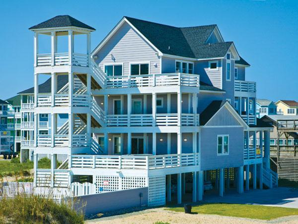 Amazing Luxury Direct Oceanfront 5300 Sq Ft. Home - Rodanthe Paradise Dream Home - Rodanthe Paradise-8BRLuxuryOceanfront Book2012Now! - Rodanthe - rentals