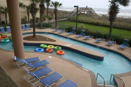 Oceanfront Aminities - 1 Bedroom - Ocean Front Highrise - Side-View Sleeps 6 - - Myrtle Beach - rentals