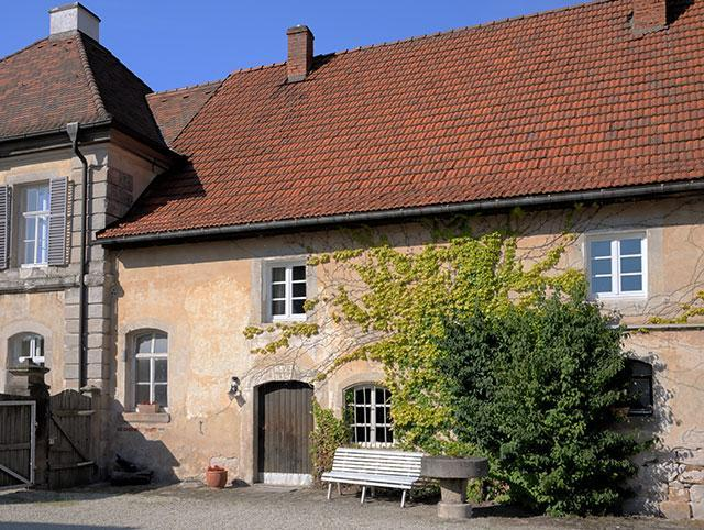 goosekeeper - Goosekeepers House in the Birkenfeld castlecomplex - Stockheim/Unterfranken - rentals