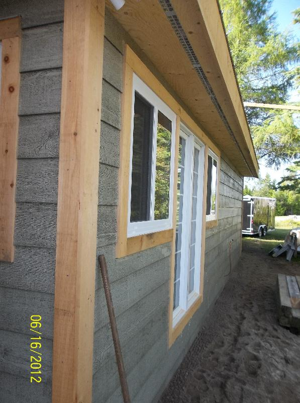 Front of Cottage - Water Facing