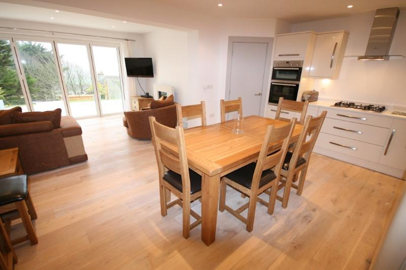 Ocean Breeze Woolacombe Holiday Cottages Open Plan Living
