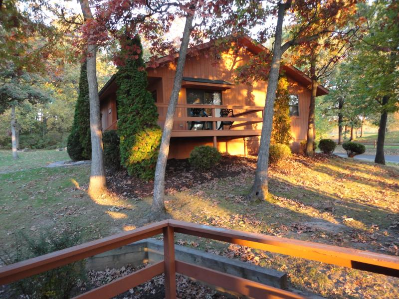 Cottage...Cabins are similar but with log siding