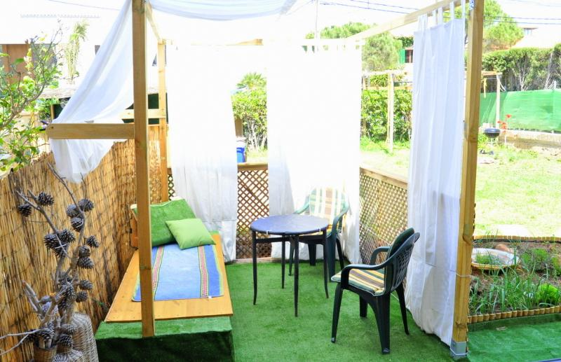 With private chill out and dining gazebo in the garden