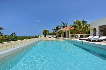 La Favorita - Villa near beaches boasts a pool, modern design & sea view - Image 1 - Terres Basses - rentals