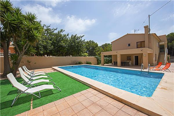 Holiday house for 14 persons, with swimming pool , in Moraira - Image 1 - La Llobella - rentals