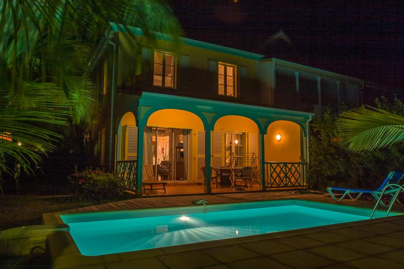 MARLENE... adorable 2 bedroom townhome in the heart of Orient Bay, French St Martin 800 480 8555