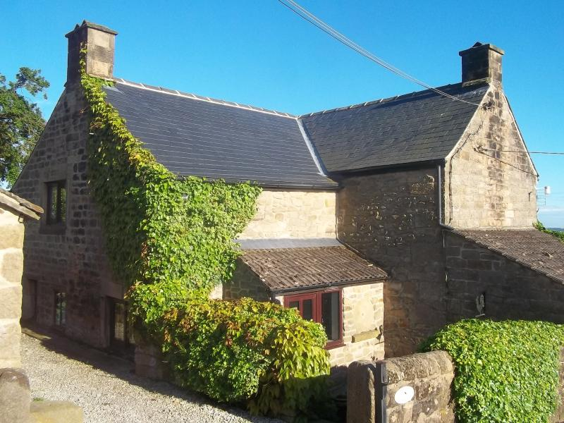 The Old Farmhouse is an 18 century stone cottage