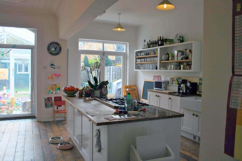 Fabulous live-in kitchen (which we live in)