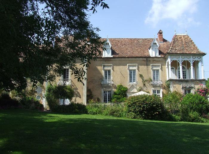 The Cottage stands in the Grounds of Le Manoir du Forestier