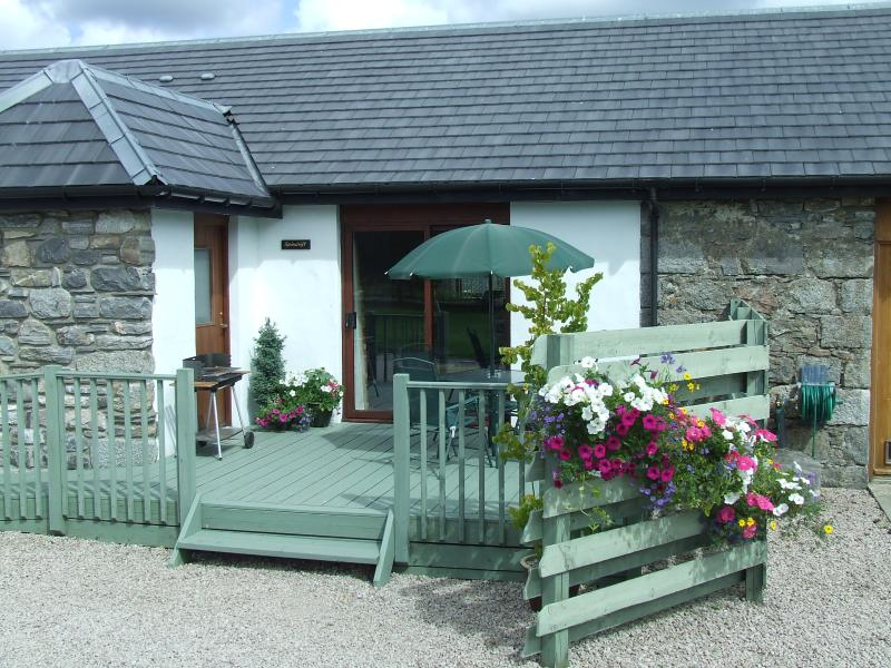 Spindrift Cottage overlooking Bird Reserve of Insh Marshes