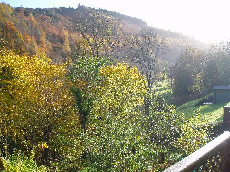 Ceiriog Valley from the balcony