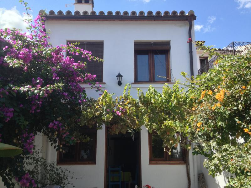 Our restored house on the outskirts of Jimena