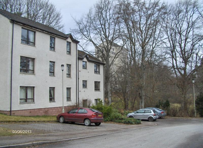 Grampian Court set in woodland next to the Aviemore Centre