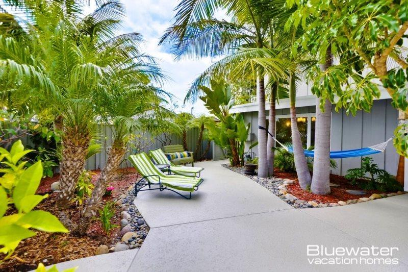 Lush Tropical landscaping - Your private retreat awaits