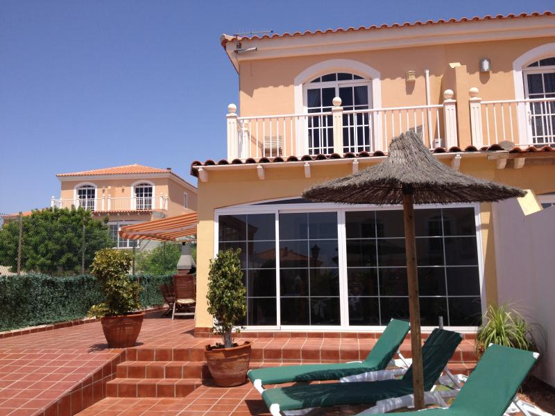 Front of Property - Spacious grounds with sun all day overlooking pool