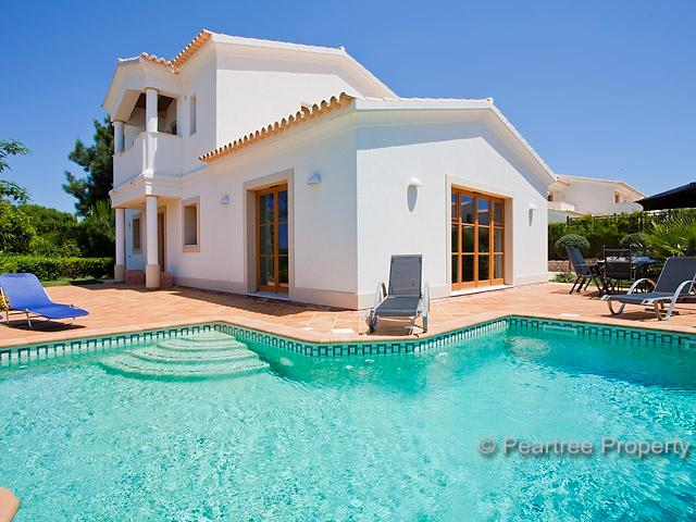 Private, 27m perimeter heated pool with terrace