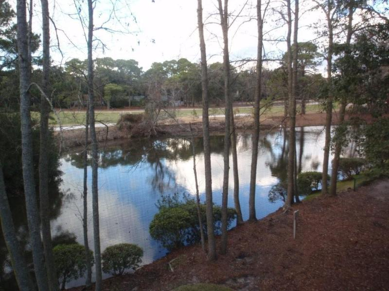 View from porch - Free Greens Fees for four/each day's rental on HHI - Hilton Head - rentals