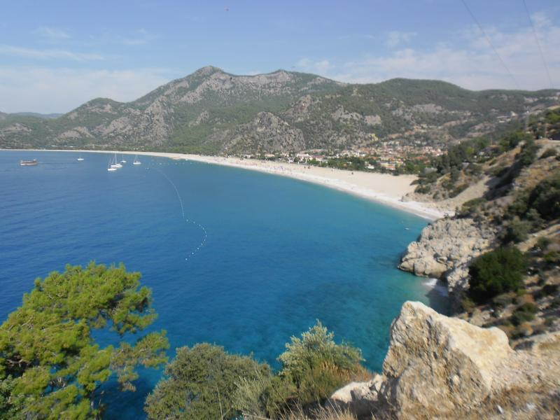 Oludeniz, the most photographed beach in Turkey
