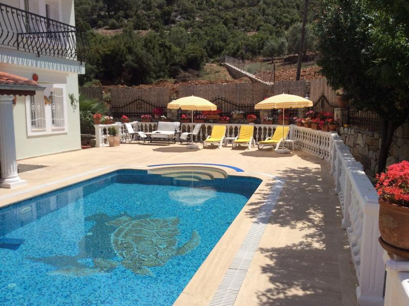 Villa Poppy - Plenty of sun terraces - great place to sunbath and relax