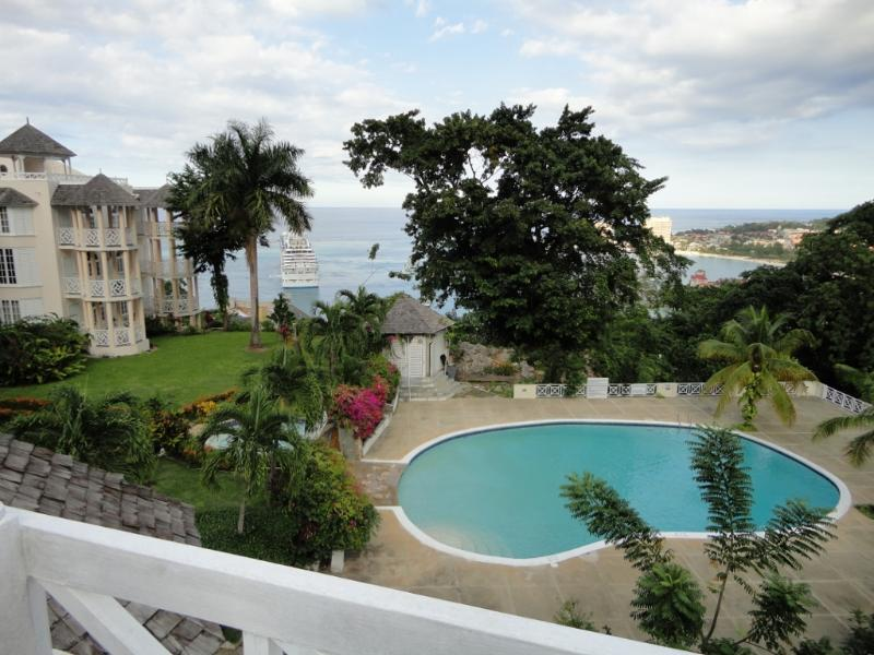 ocean and cruise ship views  - Studio with amazing ocean views - Ocho Rios - rentals