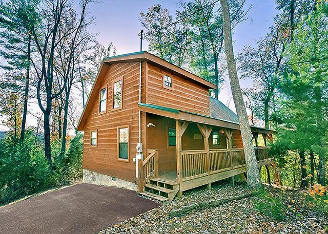 Sunset Ridge #234- Outside View of the Cabin