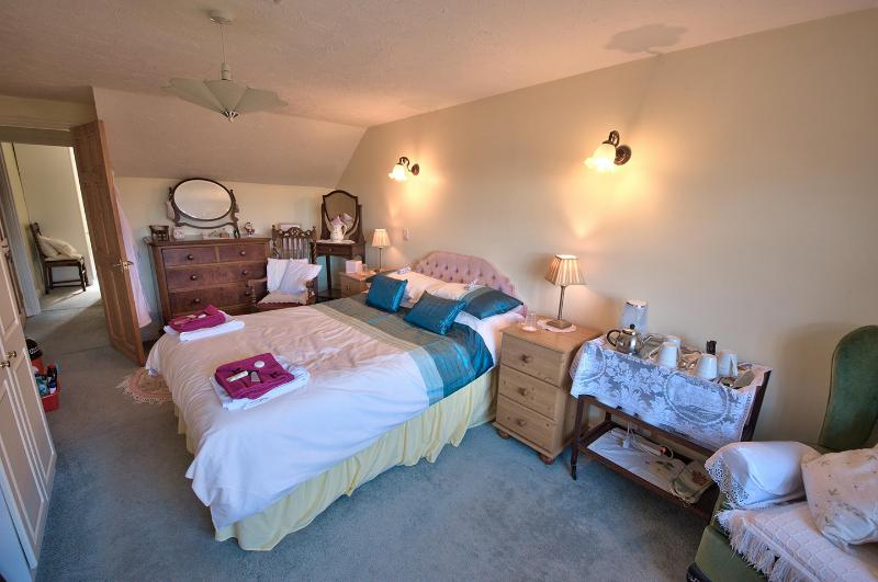 This is the double room one of 2 rooms making up the family suite