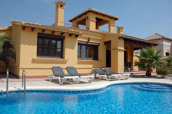 Private swimming pool, great for family holidays.