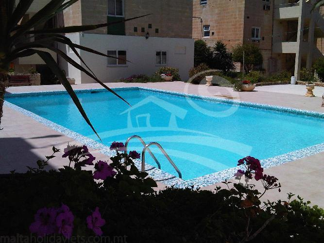 Large Communal pool 300 meters away from the sea front