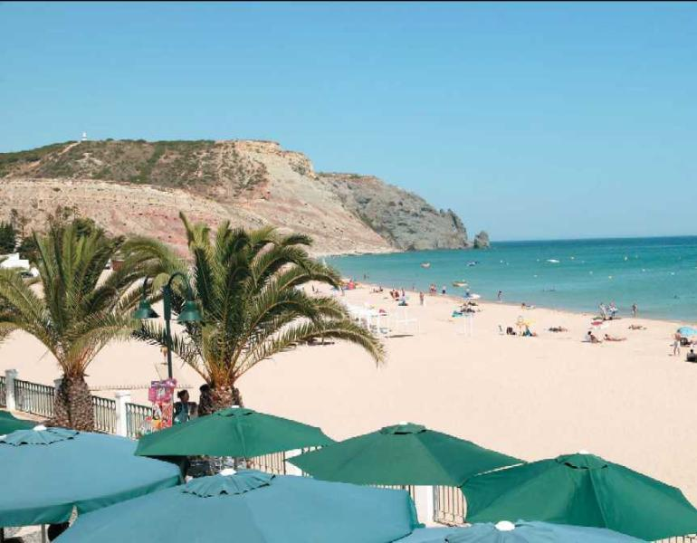 Main beach, view from The Galley restaurant