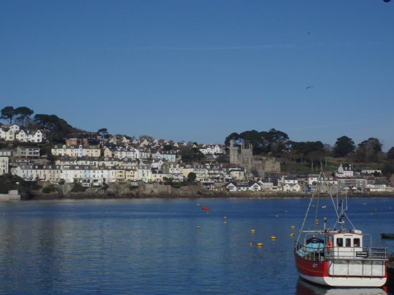 View From Quayside House across Fowey Estuary