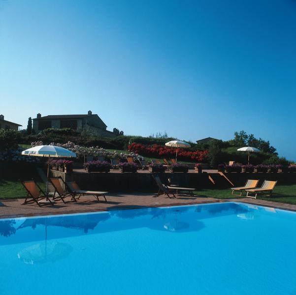 The swimming Pool of 'Podere il Pino'