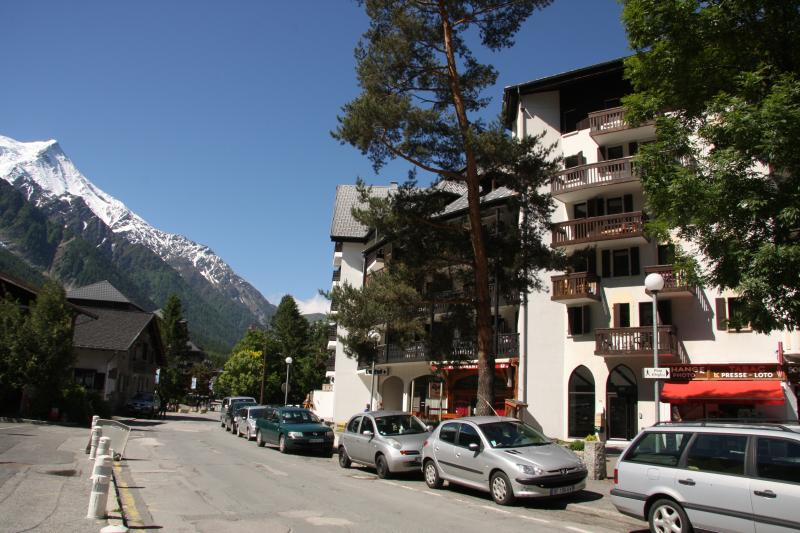 View of apartment building