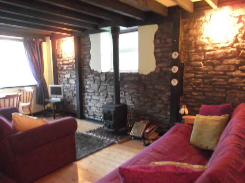 Cosy feel with its old charm and character,  log burner.