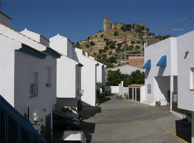 The House is located in a small courtyard overlooked by the Castle