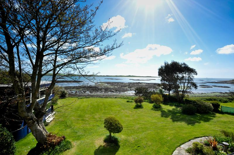 Unspoilt view of Strangford Lough from upstairs lounge