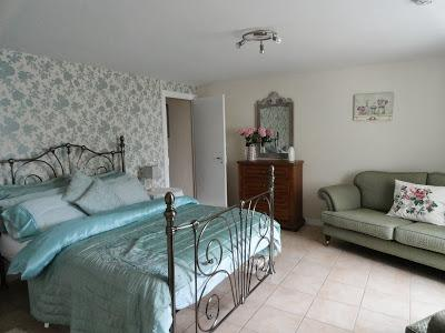 The very comfortable king size bed, needed after a day of tranquillity or perhaps a sporty day!