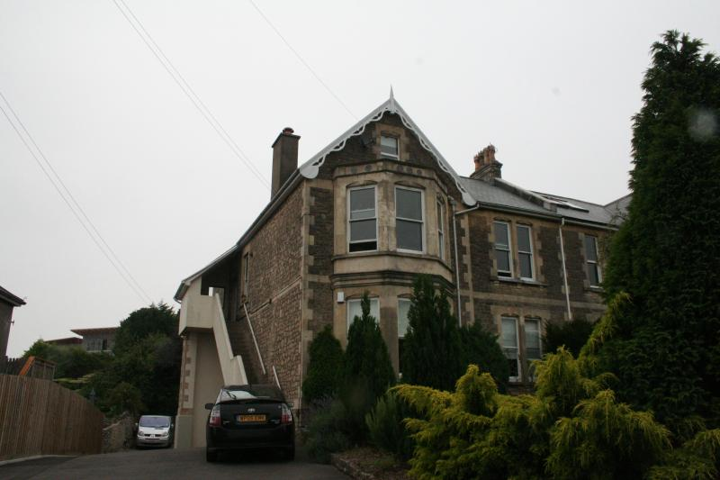 The flat is part of a wonderful Victorian house in keeping with others in the area