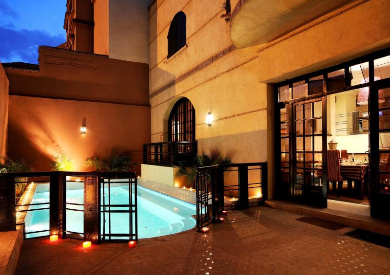 Your private pool in the heart of the Red City