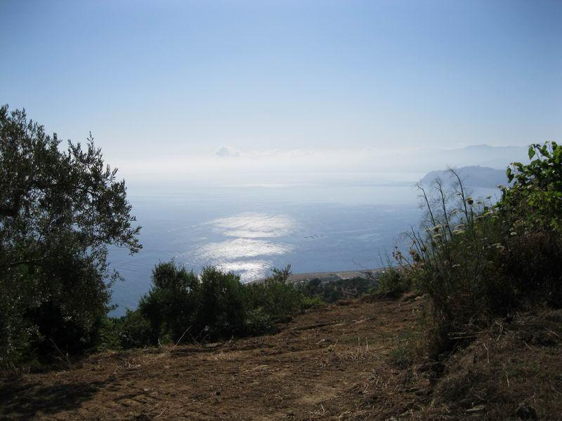 Fantastic view from the Terrace of Villa Jare on to the sea