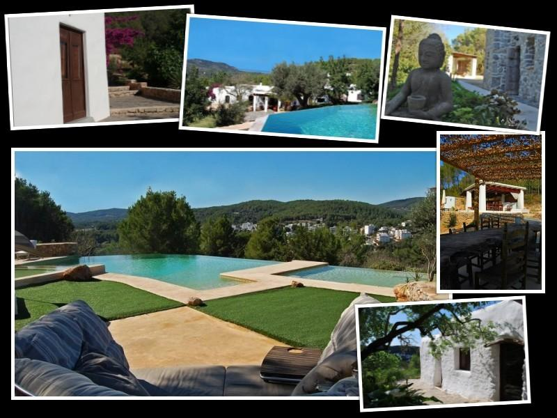 A hidden nature-balanced luxurious holiday retreat - yet on walking distance from the village.