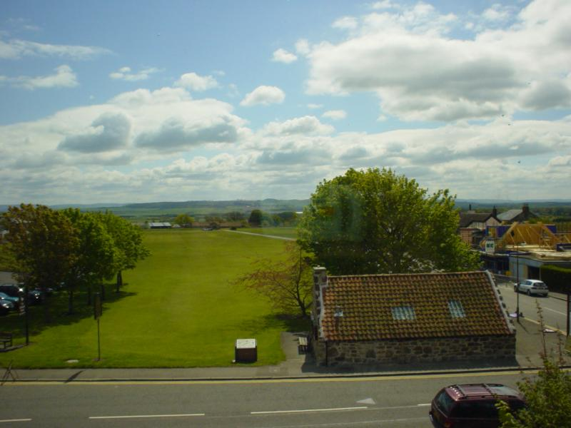 View of children's golf course from Ist floor living room