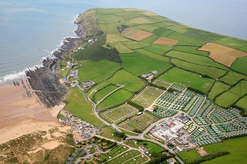 In the heart of Croyde Bay