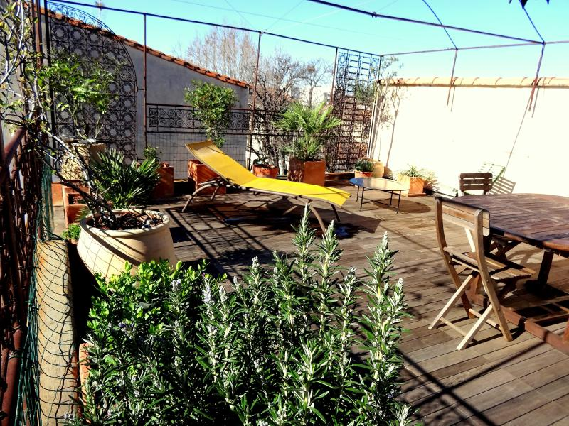 the roof terrasse