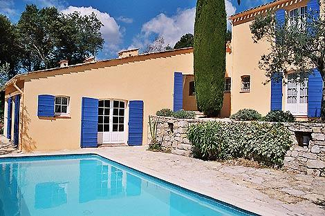 Villa Charmante, private pool and south facing terrace with beautiful views