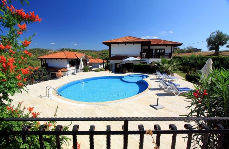 Just one of our 9 communal swimming pools