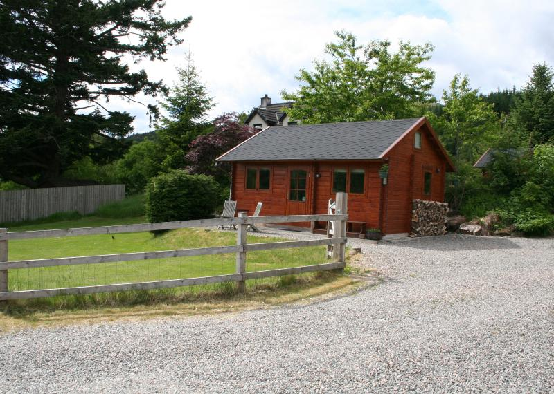 Stay a while and relax in our beautiful Log Cabin
